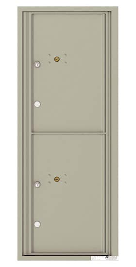 4C12S-2P Front Loading Private Use Commercial 4C Parcel Lockers – 2 Parcel Lockers