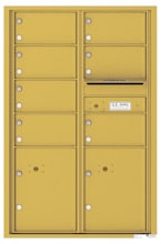Florence 4C Mailboxes 4C13D-07 Gold Speck