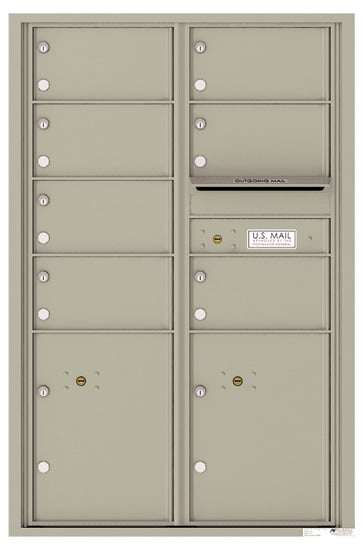 4C13D07 4C Horizontal Commercial Mailboxes