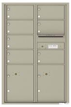 Florence 4C Mailboxes 4C13D-07 Postal Grey