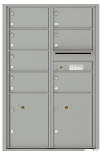 Florence 4C Mailboxes 4C13D-07 Silver Speck