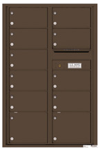 Florence 4C Mailboxes 4C13D-11 Antique Bronze