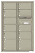 Florence 4C Mailboxes 4C13D-11 Postal Grey