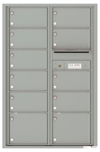 Florence 4C Mailboxes 4C13D-11 Silver Speck