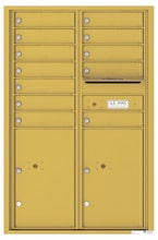 Florence 4C Mailboxes 4C13D-12 Gold Speck