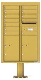 Florence 4C Pedestal 4C13D-12-P Gold Speck