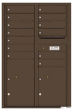 Florence 4C Mailboxes 4C13D-13 Antique Bronze