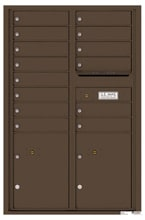 Florence 4C Mailboxes 4C13D-14 Antique Bronze