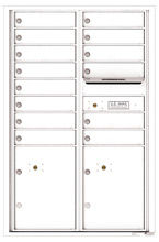 Florence 4C Mailboxes 4C13D-14 White