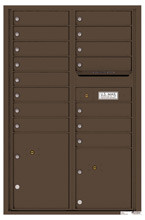 Florence 4C Mailboxes 4C13D-15 Antique Bronze