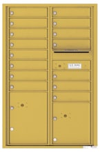 Florence 4C Mailboxes 4C13D-15 Gold Speck
