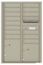 Florence 4C Mailboxes 4C13D-15 Postal Grey