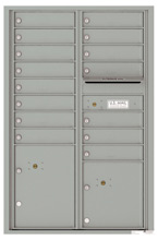 Florence 4C Mailboxes 4C13D-15 Silver Speck