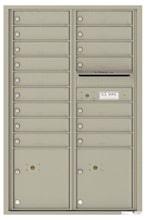 Florence 4C Mailboxes 4C13D-16 Postal Grey