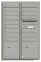 Florence 4C Mailboxes 4C13D-16 Silver Speck