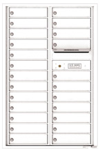 Florence 4C Mailboxes 4C13D-24 White
