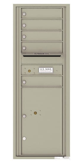 4C13S05 4C Horizontal Commercial Mailboxes
