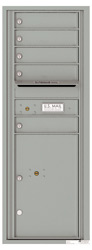 Florence 4C Mailboxes 4C13S-05 Silver Speck