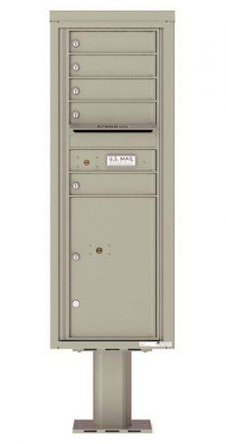 4C13S05-P Commercial 4C Pedestal Mailboxes