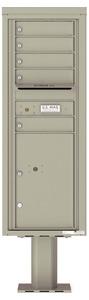 Florence 4C Pedestal 4C13S-05-P Postal Grey