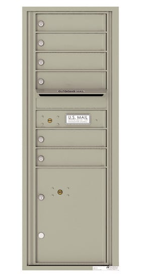 4C13S06 4C Horizontal Commercial Mailboxes