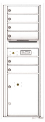Florence 4C Mailboxes 4C13S-06 White