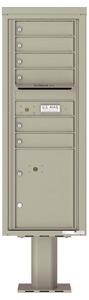 Florence 4C Pedestal 4C13S-06-P Postal Grey