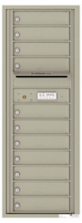 Florence 4C Mailboxes 4C13S-11 Postal Grey