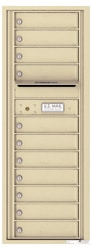 Florence 4C Mailboxes 4C13S-11 Sandstone