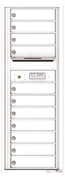 Florence 4C Mailboxes 4C13S-11 White
