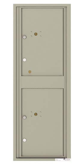 4C13S-2P Front Loading Private Use Commercial 4C Parcel Lockers – 2 Parcel Lockers
