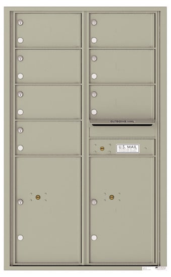 4C14D07 4C Horizontal Commercial Mailboxes