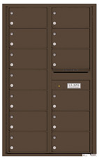 Florence 4C Mailboxes 4C14D-13 Antique Bronze