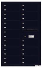 Florence 4C Mailboxes 4C14D-13 Black