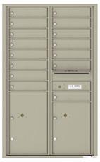 Florence 4C Mailboxes 4C14D-15 Postal Grey