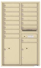 Florence 4C Mailboxes 4C14D-15 Sandstone
