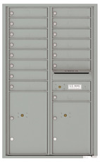 Florence 4C Mailboxes 4C14D-15 Silver Speck