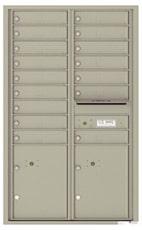 Florence 4C Mailboxes 4C14D-16 Postal Grey