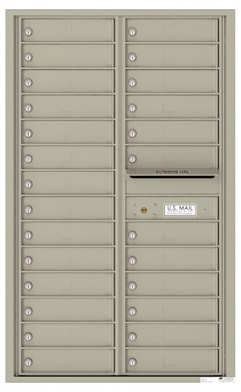 4C14D26 4C Horizontal Commercial Mailboxes