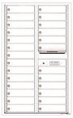 Florence 4C Mailboxes 4C14D-26 White