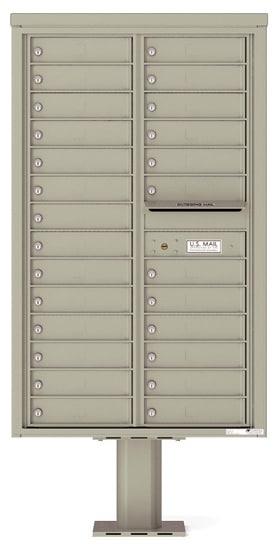 4C14D-26-P Commercial 4C Pedestal Mailboxes – 26 Tenant Doors