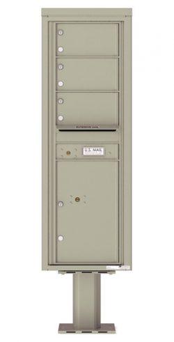 4C14S03-P Commercial 4C Pedestal Mailboxes