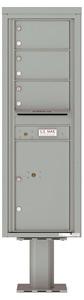Florence 4C Pedestal 4C14S-03-P Silver Speck
