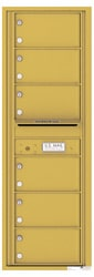 Florence 4C Mailboxes 4C14S-06 Gold Speck