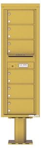 Florence 4C Pedestal 4C14S-06-P Gold Speck