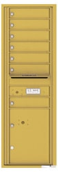 Florence 4C Mailboxes 4C14S-07 Gold Speck
