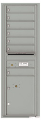 Florence 4C Mailboxes 4C14S-07 Silver Speck