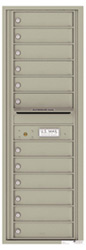 Florence 4C Mailboxes 4C14S-12 Postal Grey