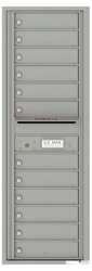 Florence 4C Mailboxes 4C14S-12 Silver Speck