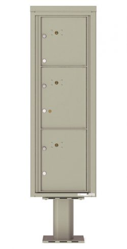 4C14S3P Parcel Lockers 4C Pedestal Mailboxes